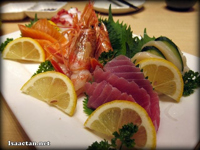 "Sashimi Moriawase ""Wakana"" 5 kinds - RM56.80"