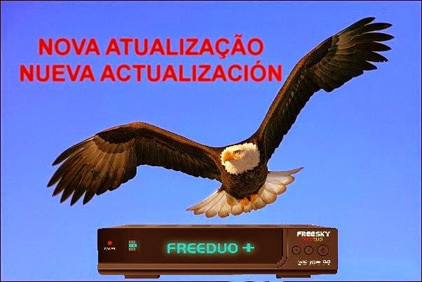 ATUALIZAÇÃO FREESKY FREEDUO PLUS - V1.97 - 01/03/2015