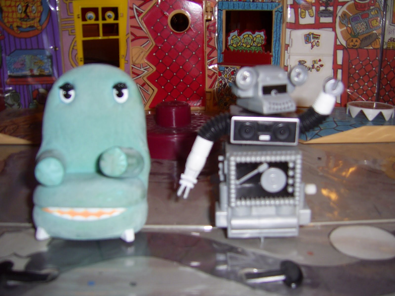 I LOVE THE SMELL OF PLASTIC- CUSTOM FIGURES Custom Pee Weeu0027s Playhouse Figures & I LOVE THE SMELL OF PLASTIC- CUSTOM FIGURES: Custom Pee Weeu0027s ...