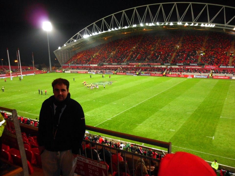 En Thomond Park, Limerick, Go... Munsters!