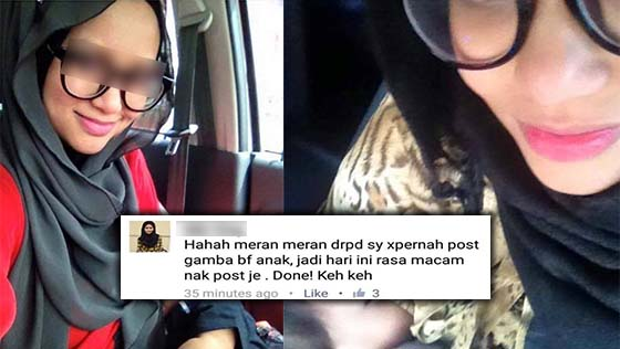 Amran Fans Vs Ibu Breastfeeding