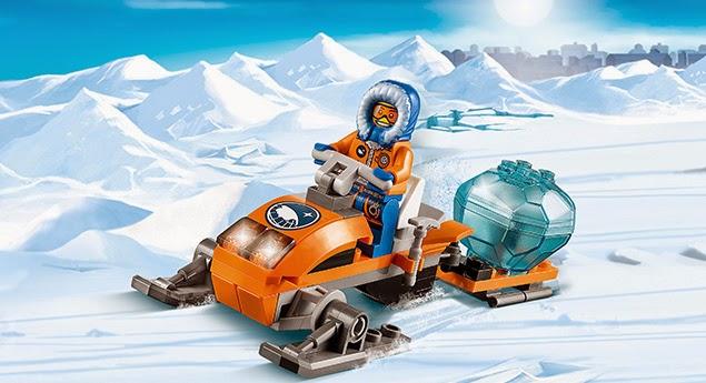 Lego Xe Tuyết Bắc Cực