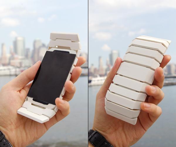 Curious Mobile Phone Design Concept