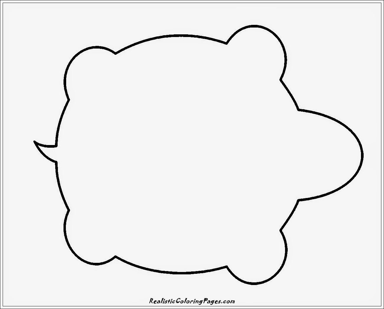 Simple Colouring Pages Animals Simple animal coloring pages