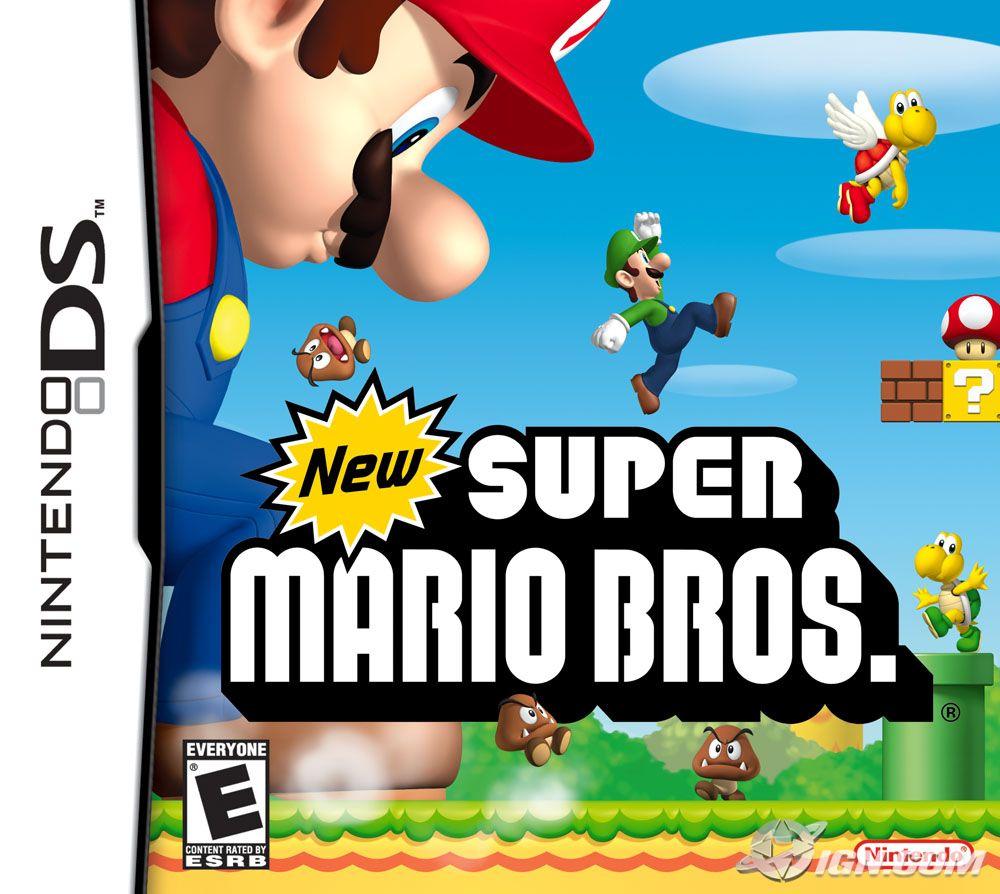 New Super Mario Bros para nintendo español por mega