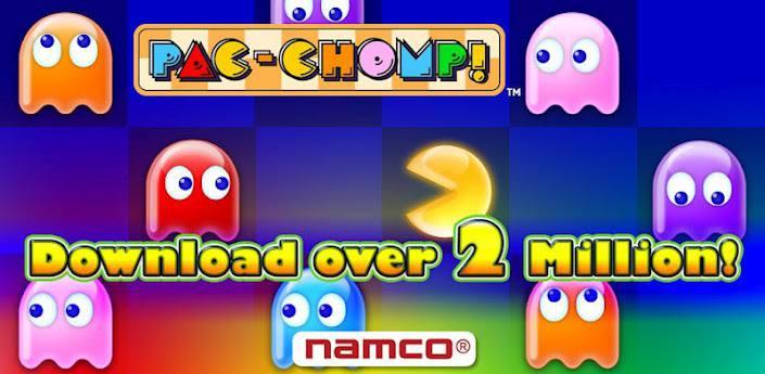 Pac-Chomp descarga gratis este juego de puzzles para Android