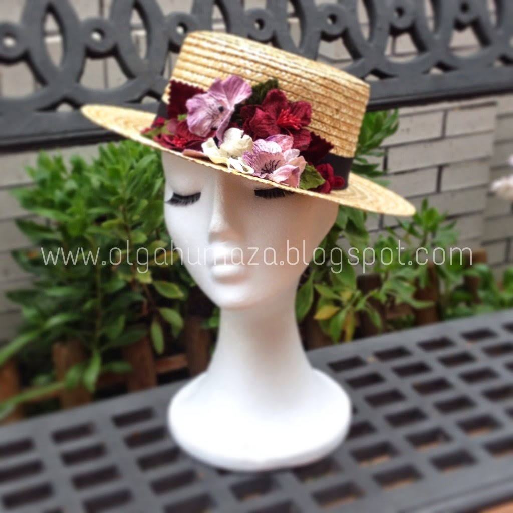 http://olgahumaza.blogspot.com.es/2015/03/c29-tocado-sombrero-canotier-con.html