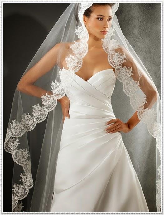 Moderne Brautschleier 2014