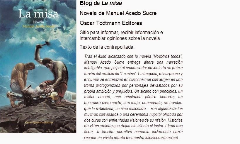 La misa / Manuel Acedo Sucre