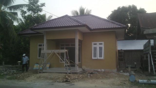Kantor Desa Dalam Tahap Finishing Gampong Teubeng Bayu Kec. Pidie Kab. Pidie-Aceh.
