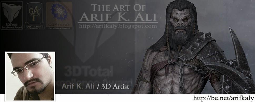 Arif Aly - 3D Artist