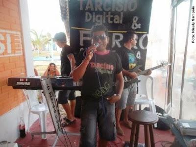 Imagem Hoje tem Tarcísio Digital no Centro Recreativo Lagoa do Portinho