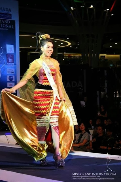 Miss Grand International - Miss Popular Award Winner Htar Htet Htet