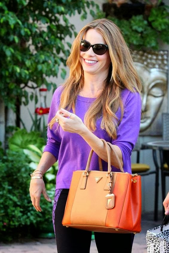 Sofia Vergara shopping candids in West Hollywood