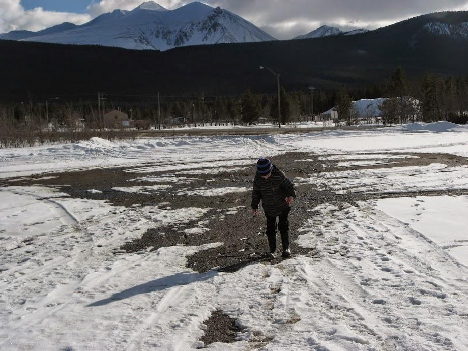 Winter in the Yukon