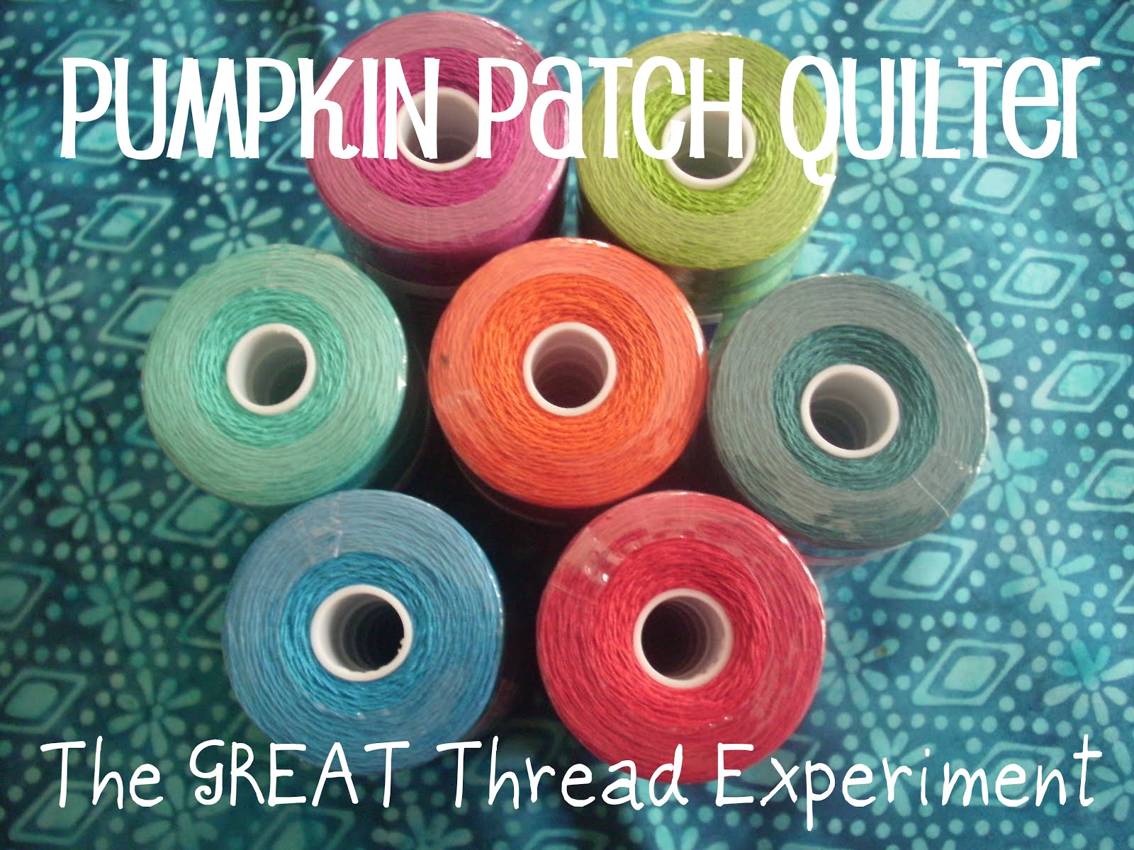 Pumpkin Patch Quilter: I've Been Quilting and a Sigma Thread Review : long arm quilting thread reviews - Adamdwight.com