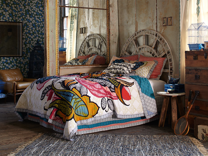 Sweet dreams with anthropologie for Anthropologie bedroom ideas