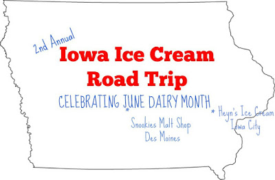 Iowa Ice Cream Road Trip at Heyn's Ice Cream in Iowa City #JuneDairyMonth