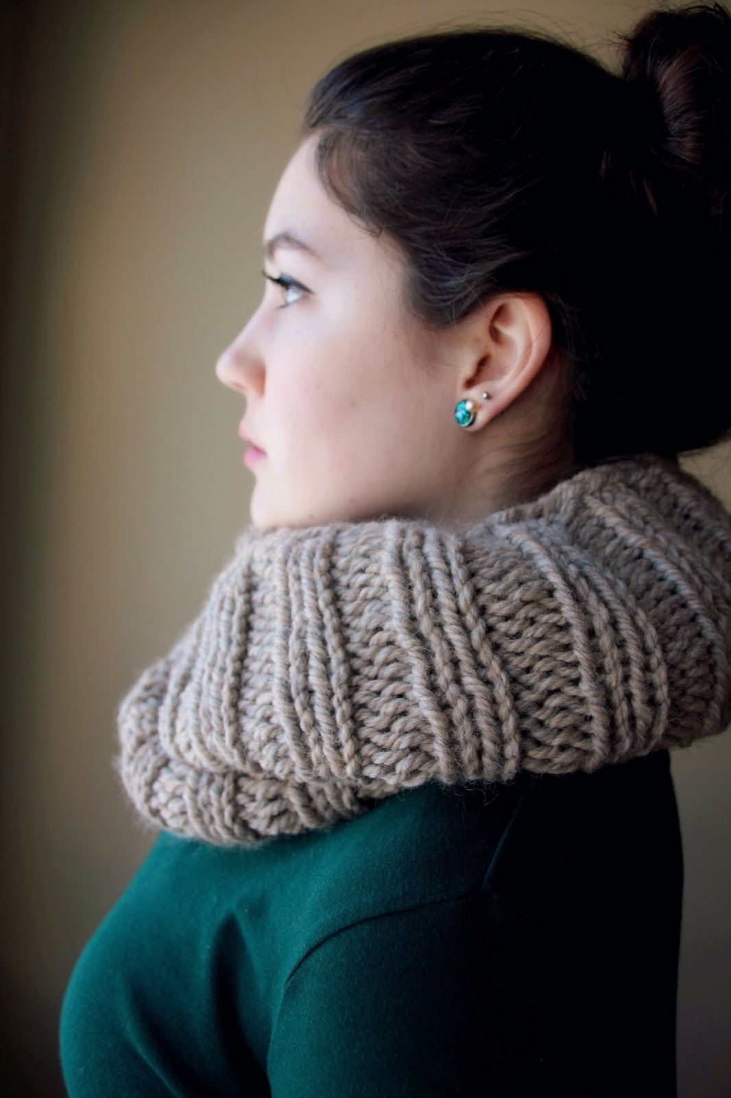 Lexalex Chunky Knit Scarves