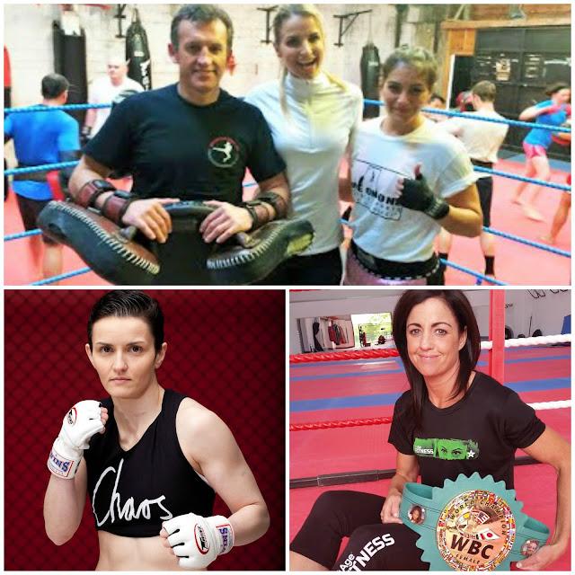 mma muaythai womens boxing vogue williams
