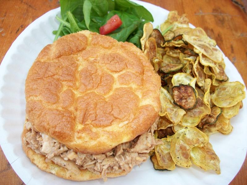 A Medifast Picnic (Revolution Rolls and BBQ Ranch Chicken Salad ...