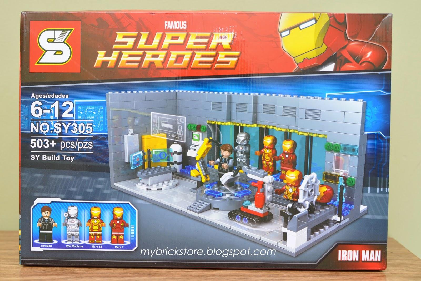My Brick Store: Sheng Yuan\'s version of Iron Man Lab