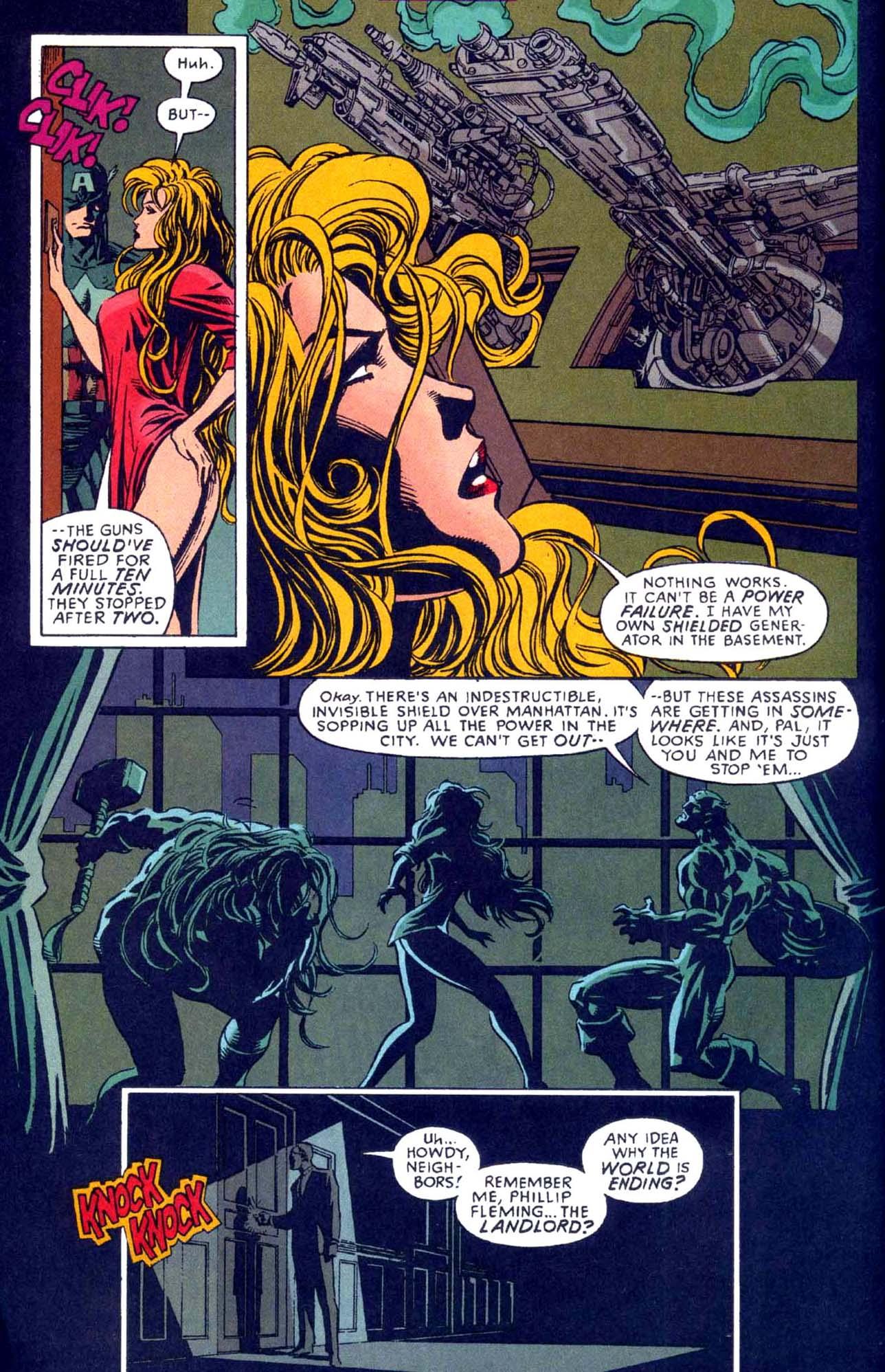 Captain America (1968) Issue #449b #404 - English 5