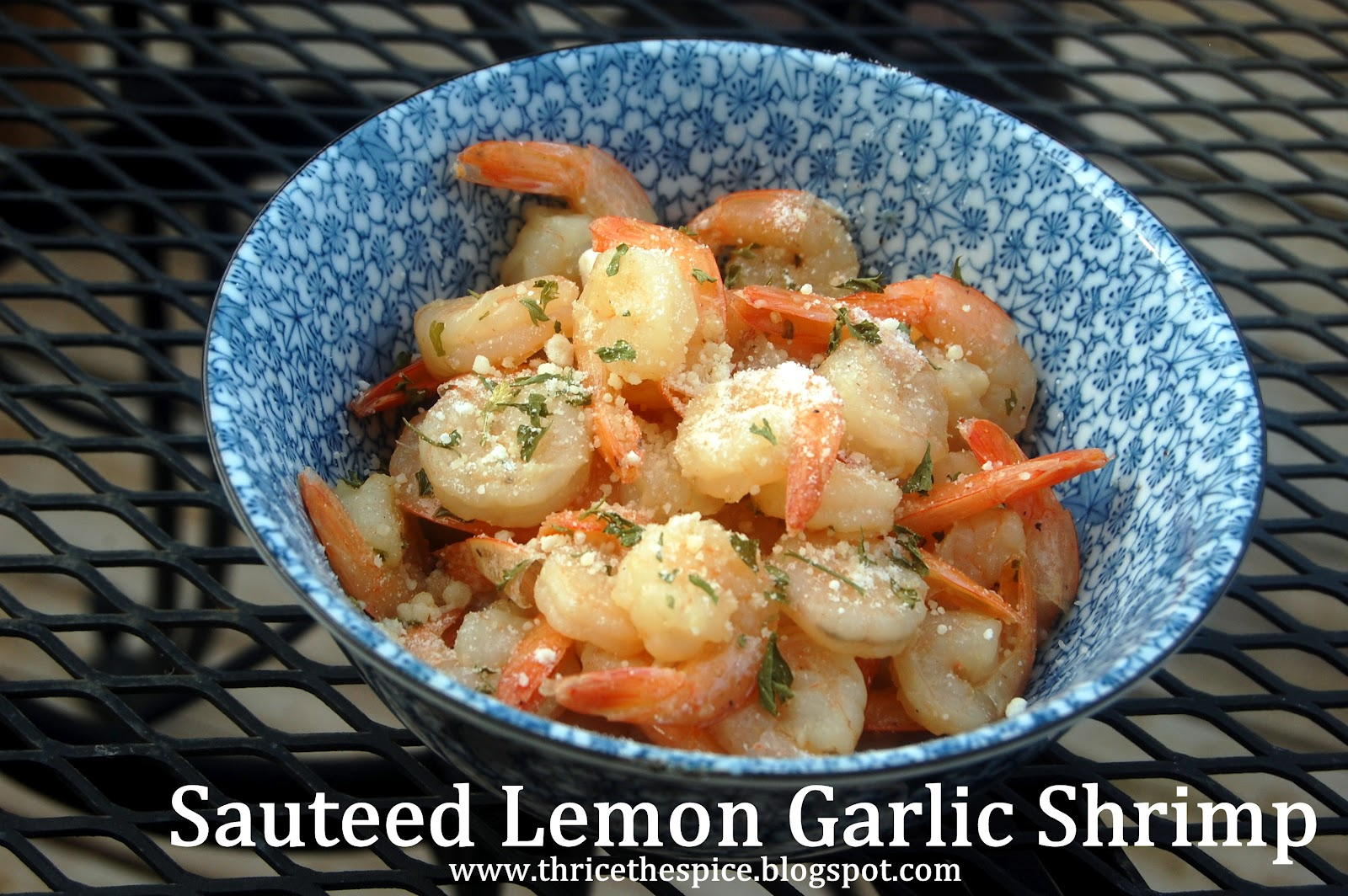 ThriceTheSpice: Sauteed Lemon Garlic Shrimp