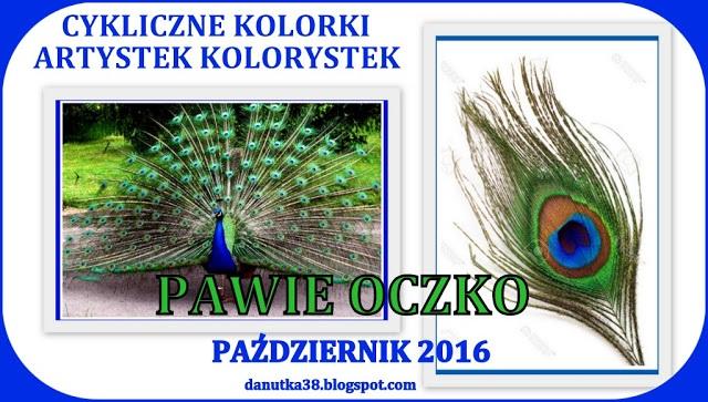Cykliczne Kolorki u Danutki - Październik 2016
