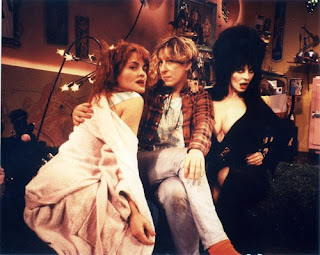 Julie Brown, Allee Willis and Elvira 1989