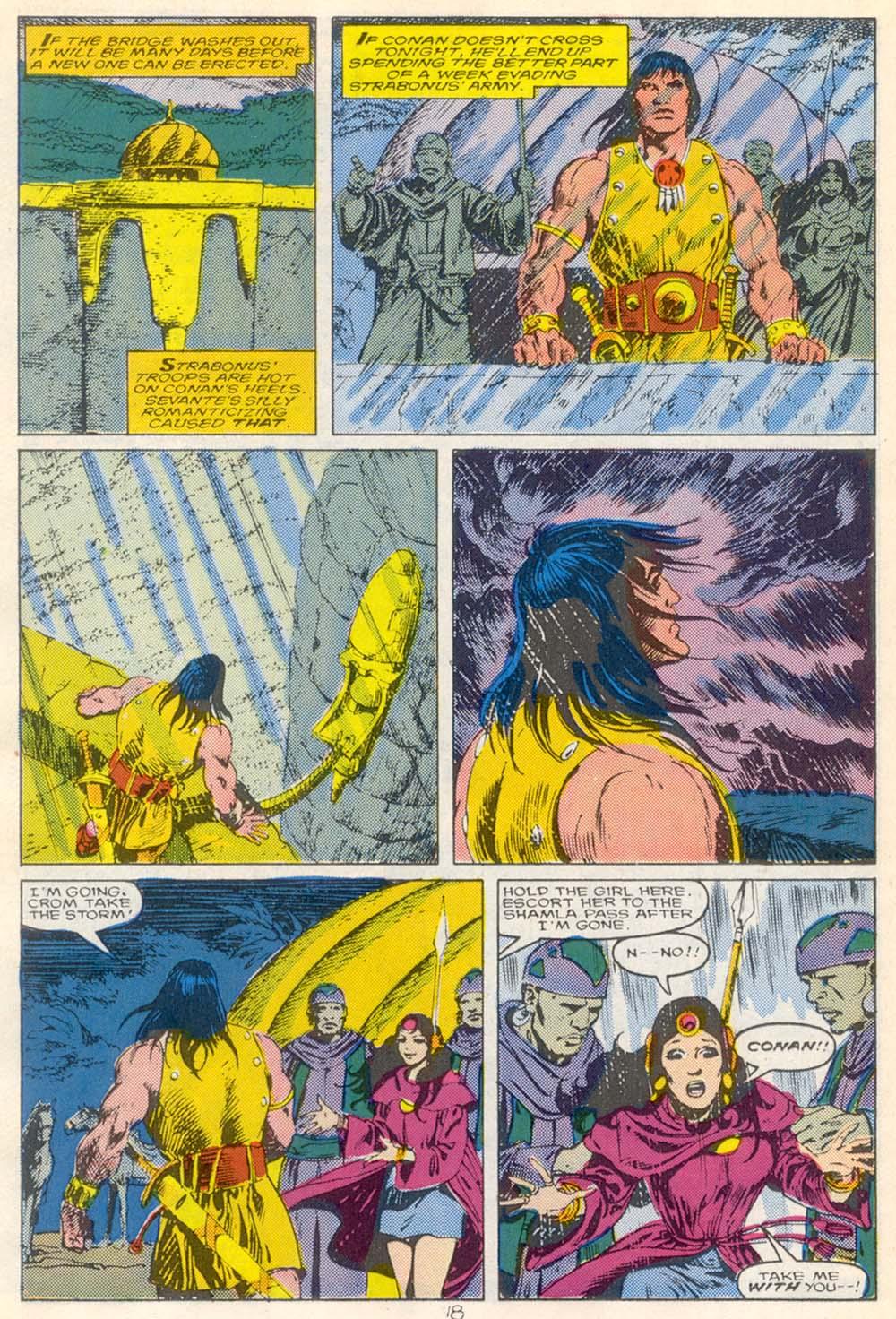 Conan the Barbarian (1970) Issue #210 #222 - English 15