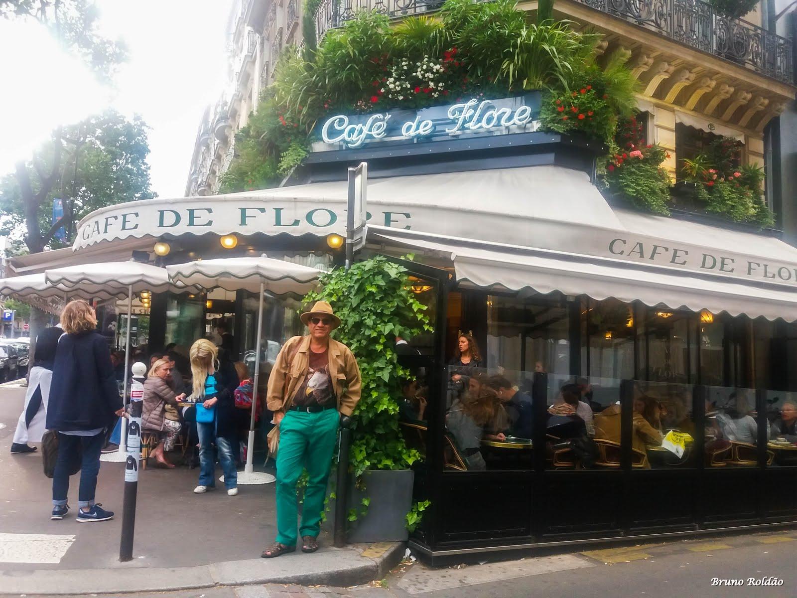 CAFÉ DAS FLORES - PARIS