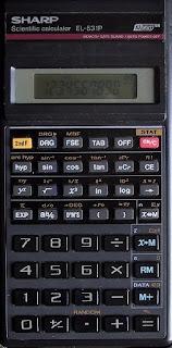 Sharp EL531P tudományos számológép