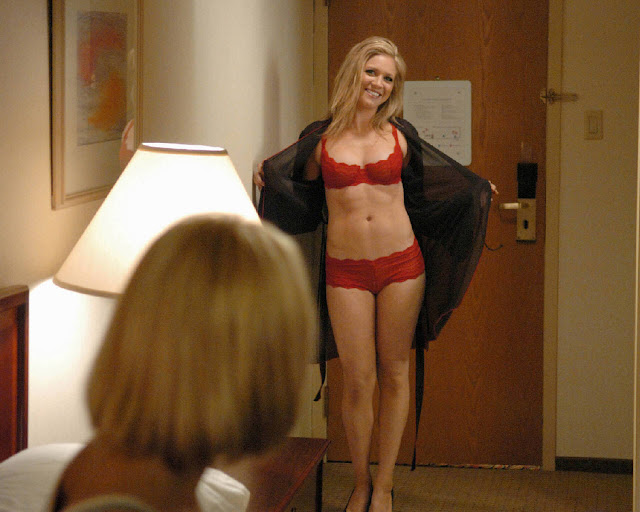Brittany Snow Sexy in Lingerie