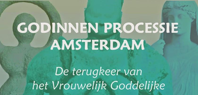 Goddess procession - Godinnenprocessie