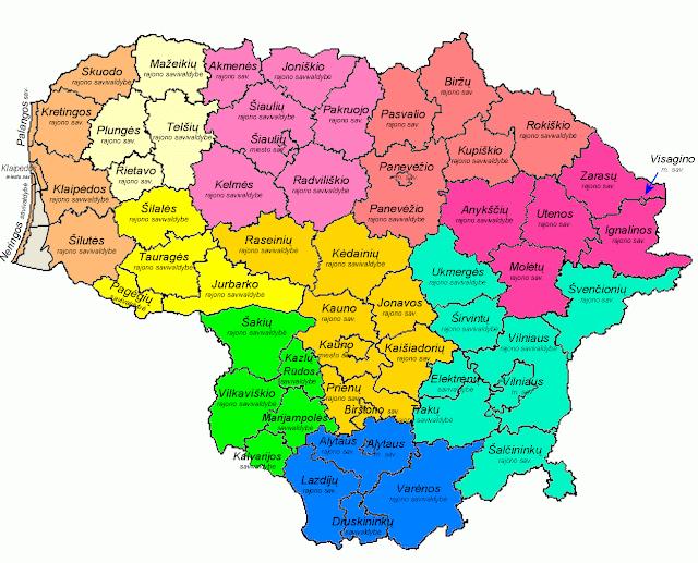 Žemėlapiai Lietuvoje