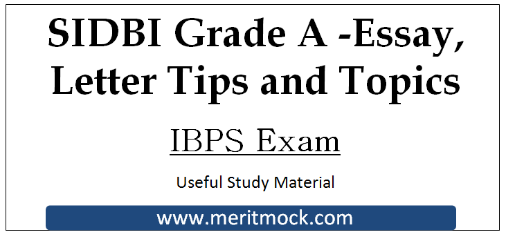 Sample essays for ibps exam