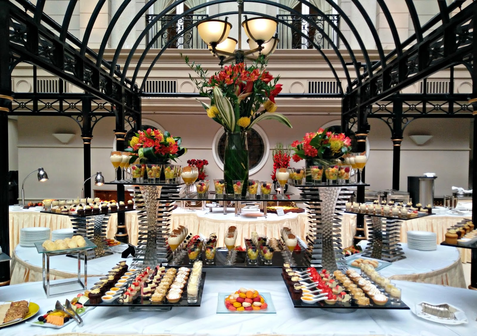 Champagne Sunday Brunch at The Landmark London - Review The Petite Passions