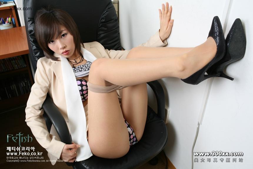 photo two beautiful white collar office stockings nice foto girl
