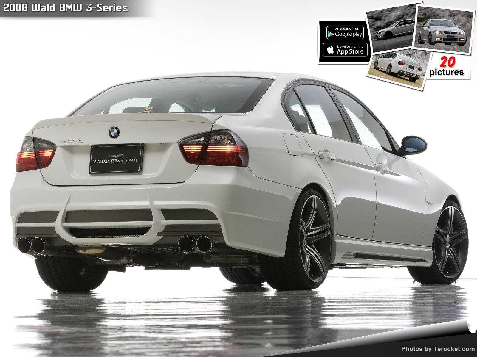 Hình ảnh xe độ Wald BMW 3-Series 2008 & nội ngoại thất