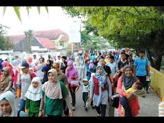 Memperingati tahun baru islam ribuan warga Banten gelar doa bersama, ribuan warga dari 14 desa