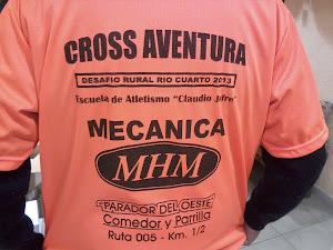 REMERAS DE CROSS AVENTURA DE RIO CUARTO 2013