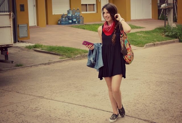 black dress, fashion blogger argentina, outfit, dress, outfit ideas, how to style a black dress
