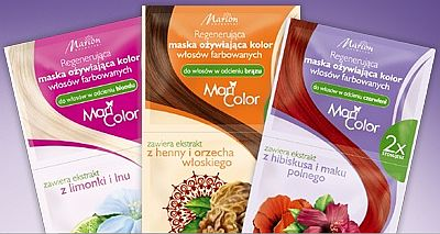 Marion - Regenerująca maska ożywiająca kolor włosów farbowanych