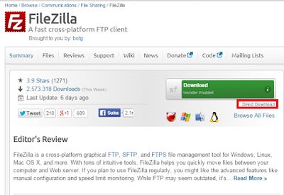 Jangan Pernah Download di SourceForge Lagi !