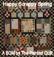 BOM The painted Quilt