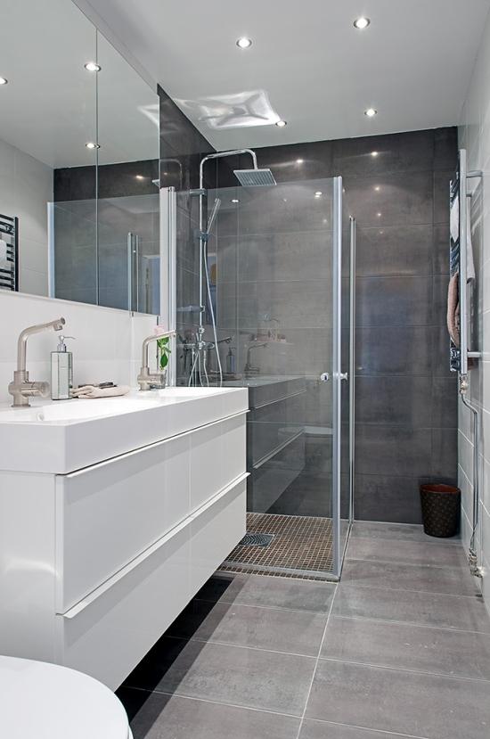Ba o peque o con encanto selecci n compras la for Modern black and white bathrooms