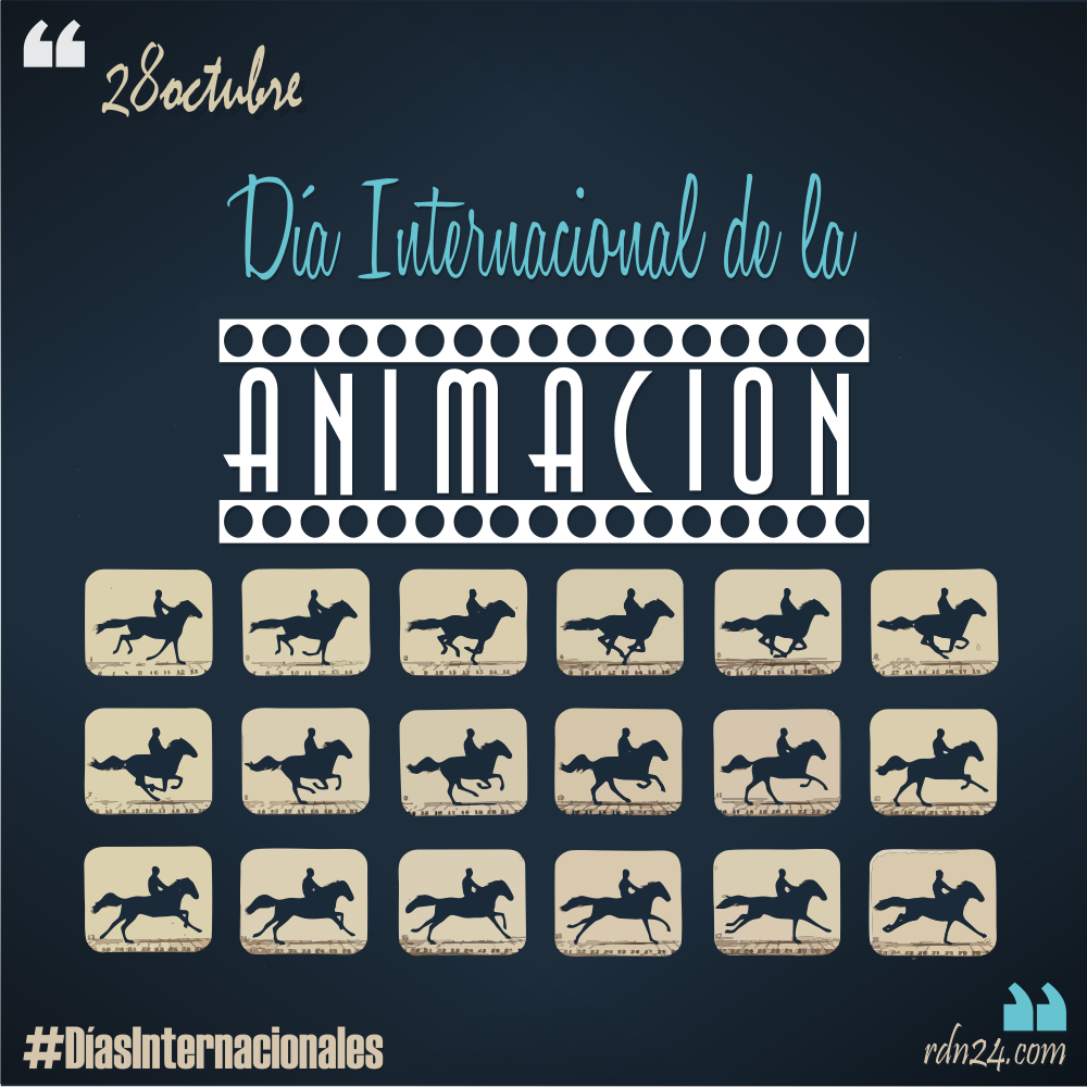 28 de octubre: Día Internacional de la Animación