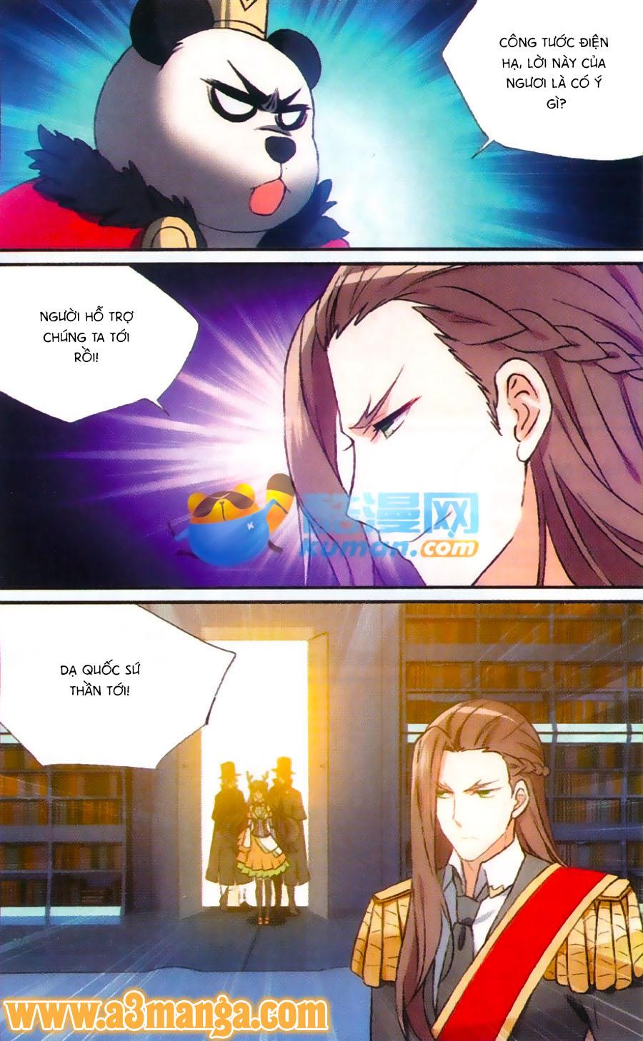 Trú Chi Vương, Dạ Chi Hiêu Chap 18