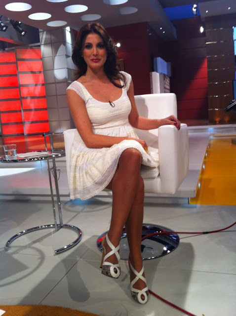 zapatos de la presentadora Eva Ruiz